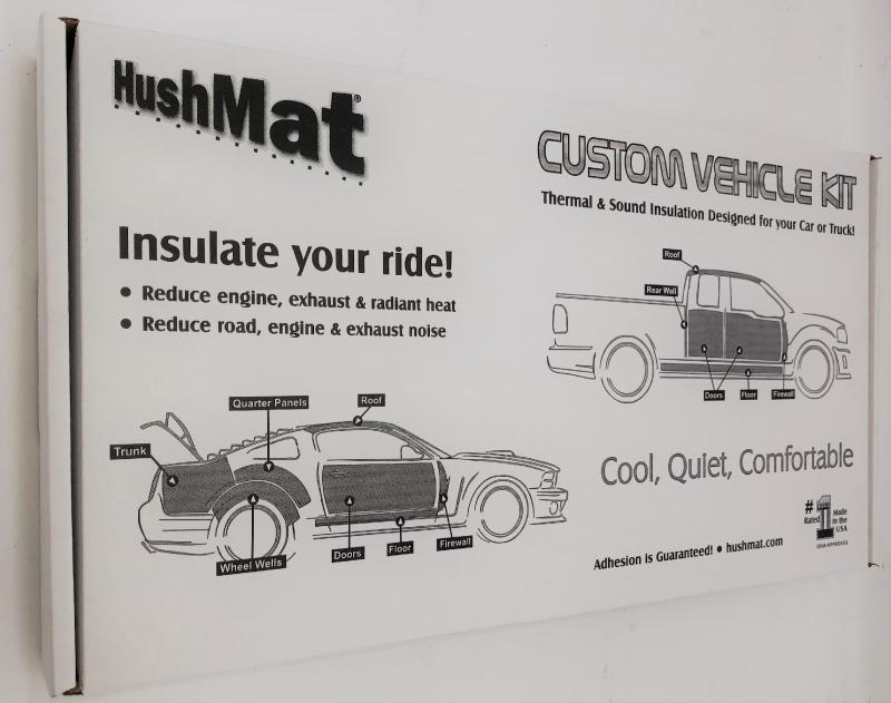 Hushmat 722752 Complete Firewall Insulation Kit BMW