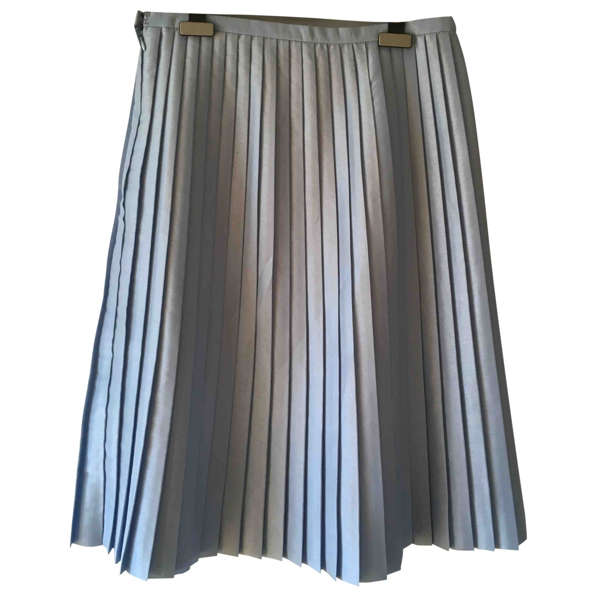 Non Signé / Unsigned \N Blue skirt for Women 46 IT