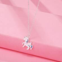 Collar de niñitas con diseño de unicornio