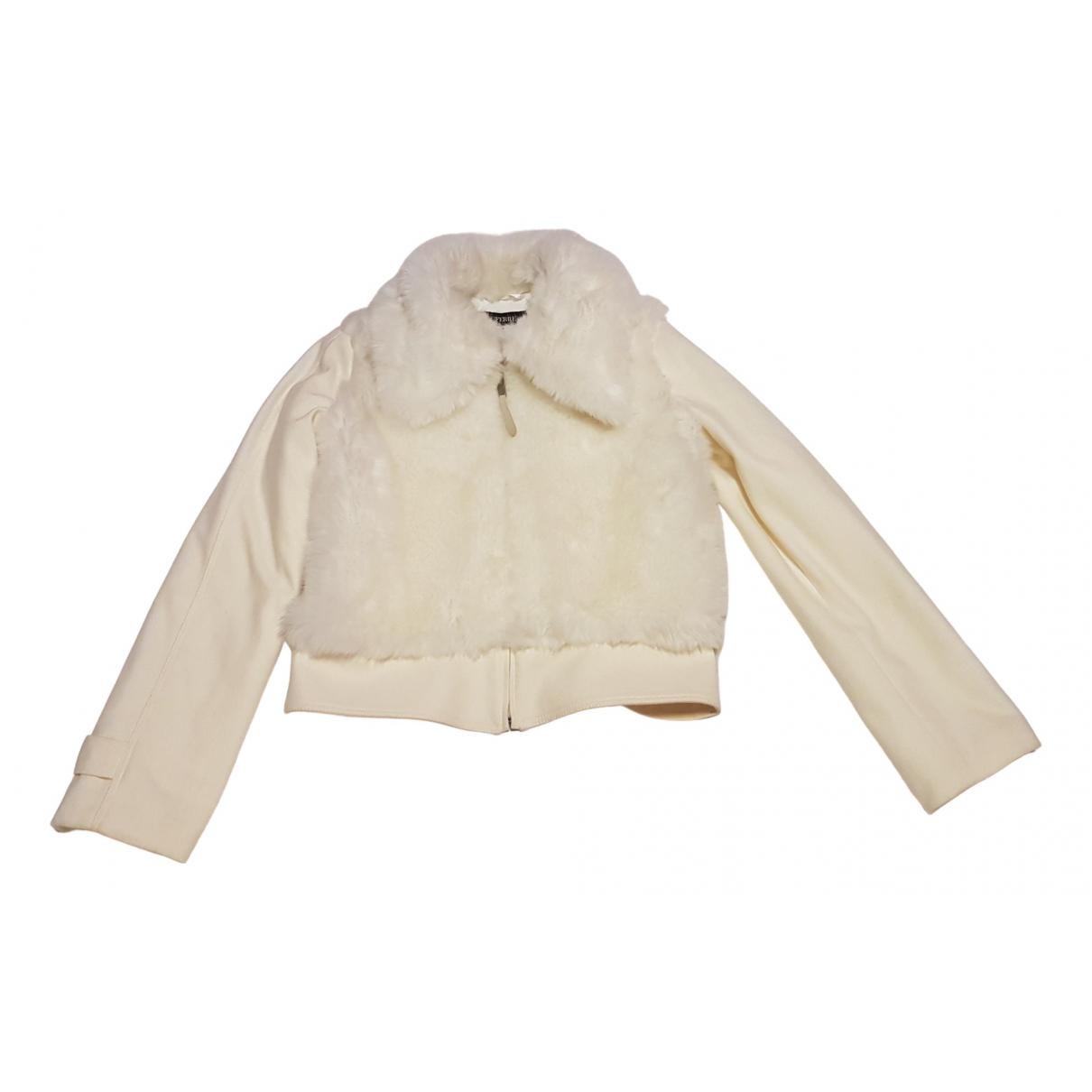 Gianfranco Ferre - Veste   pour femme en laine - blanc