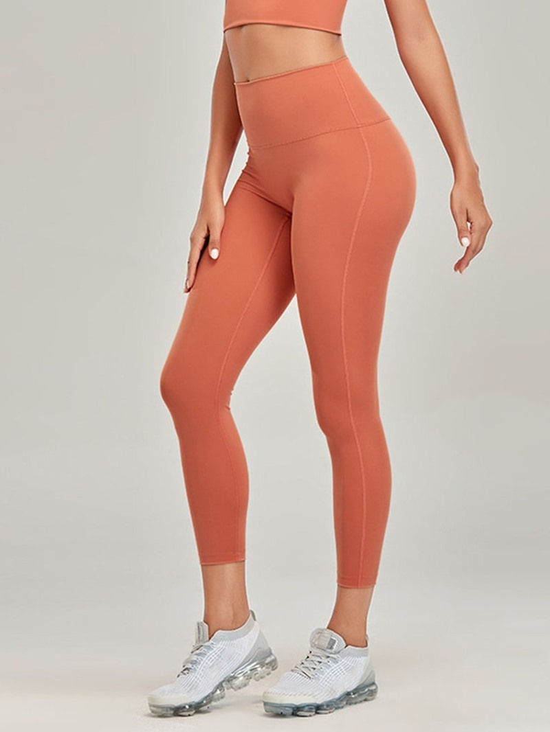 Ericdress Solid Anti-Sweat Yoga Ankle Length Pants