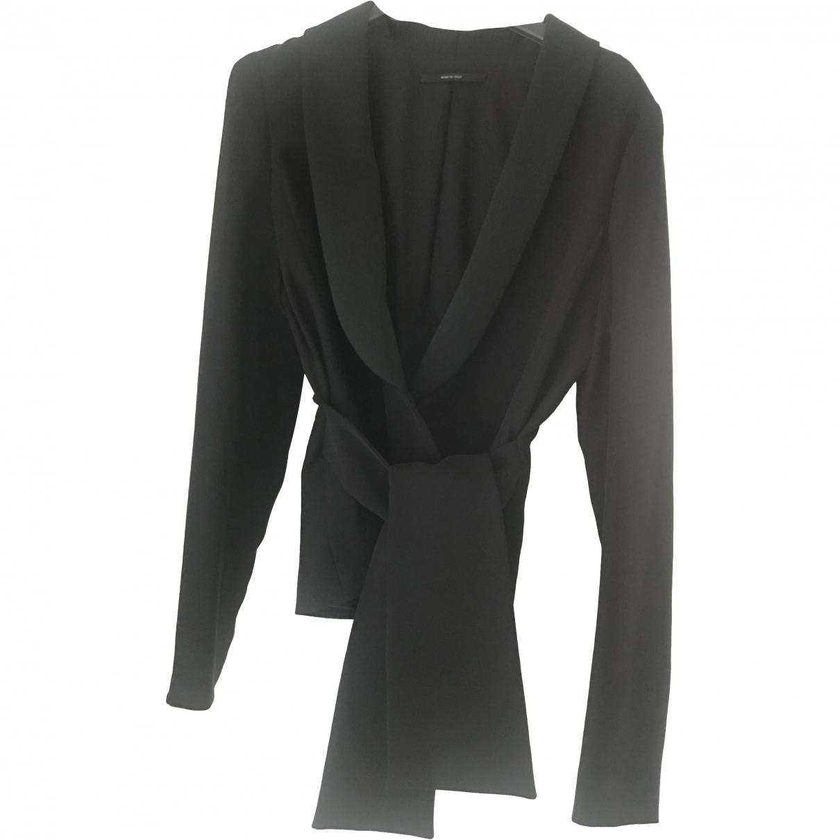 Gucci \N Black Silk jacket for Women 40 IT