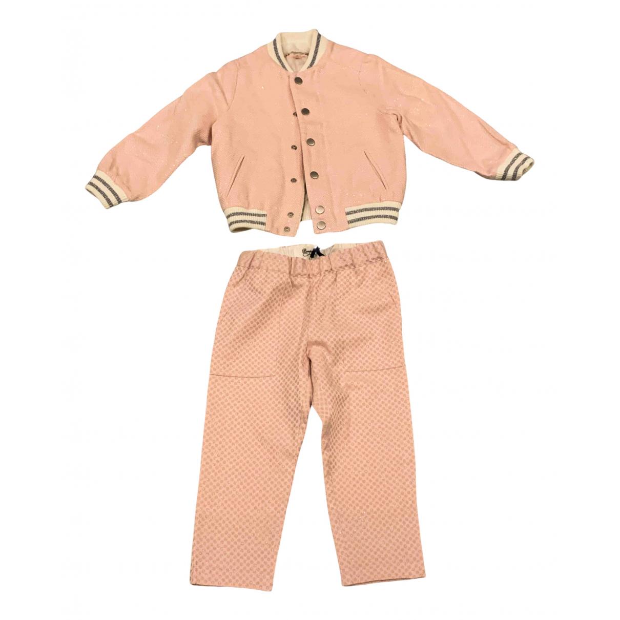 Bonpoint - Les ensembles   pour enfant - rose