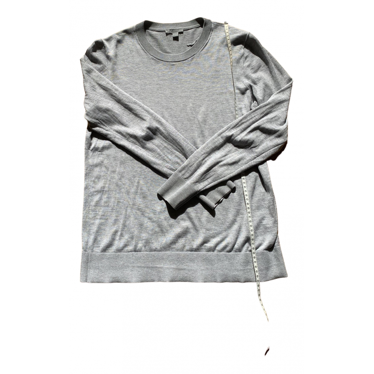 Cos \N Top in  Grau Baumwolle