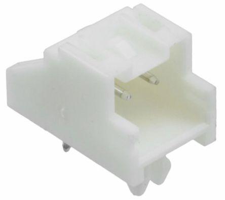 TE Connectivity , Economy Power 2.5, 2 Way, 1 Row, Right Angle PCB Header (10)