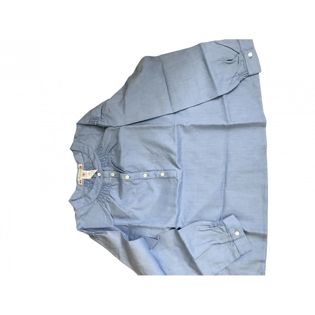 Bonpoint \N Oberteile in  Blau Baumwolle