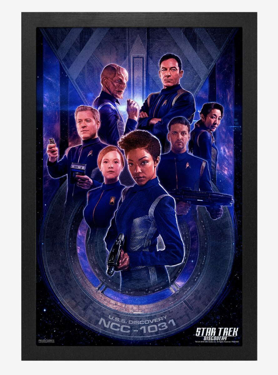 Star Trek Discovery Discovery Crew Poster