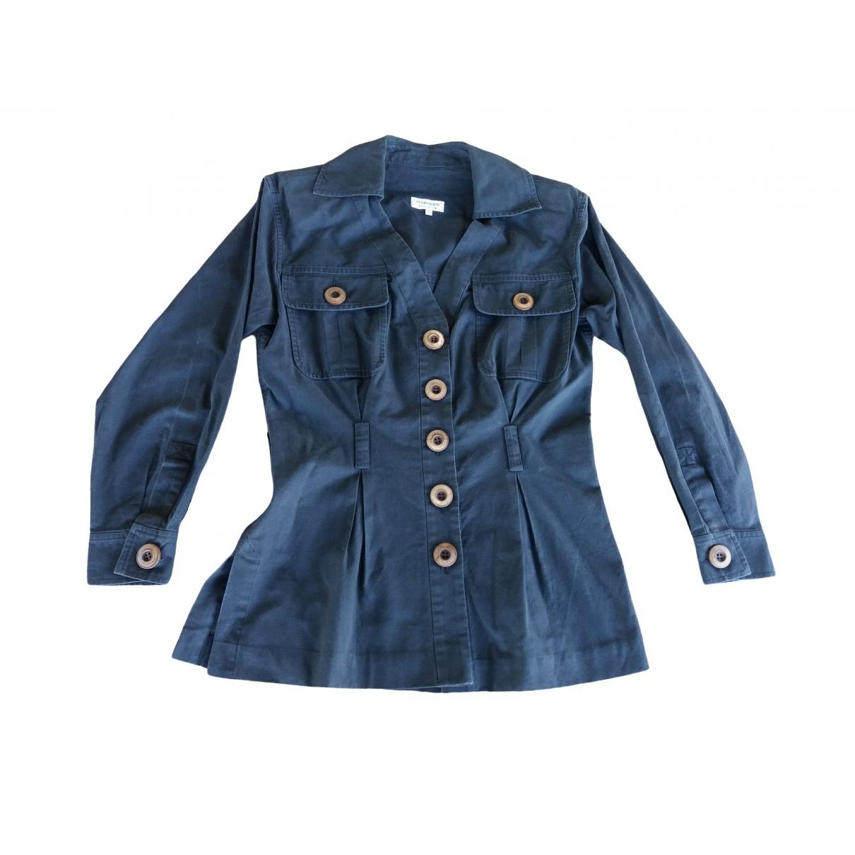 Yves Saint Laurent - Top   pour femme en coton