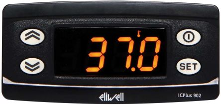Eliwell ICPlus On/Off Temperature Controller, 74 x 32mm, NTC, PTC Input, 230 V Supply