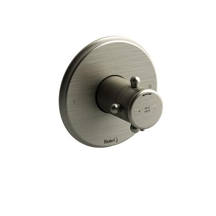 GN44BN-SPEX 2-Way No Share Type Thermostatic/Pressure Balance Coaxial Complete Valve Pex  in Brushed
