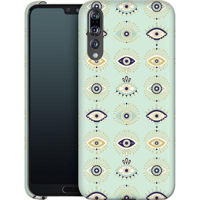 Huawei P20 Pro Smartphone Huelle - Evil Eyes Mint von Cat Coquillette