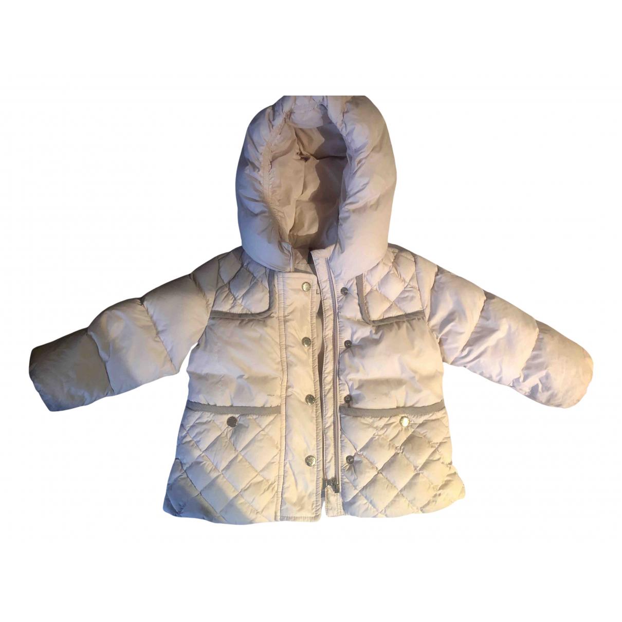 Moncler - Blousons.Manteaux Hood pour enfant - metallise