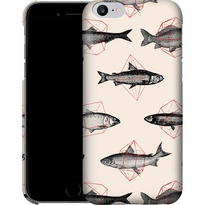 Apple iPhone 6s Plus Smartphone Huelle - Fishes in Geometrics von Florent Bodart
