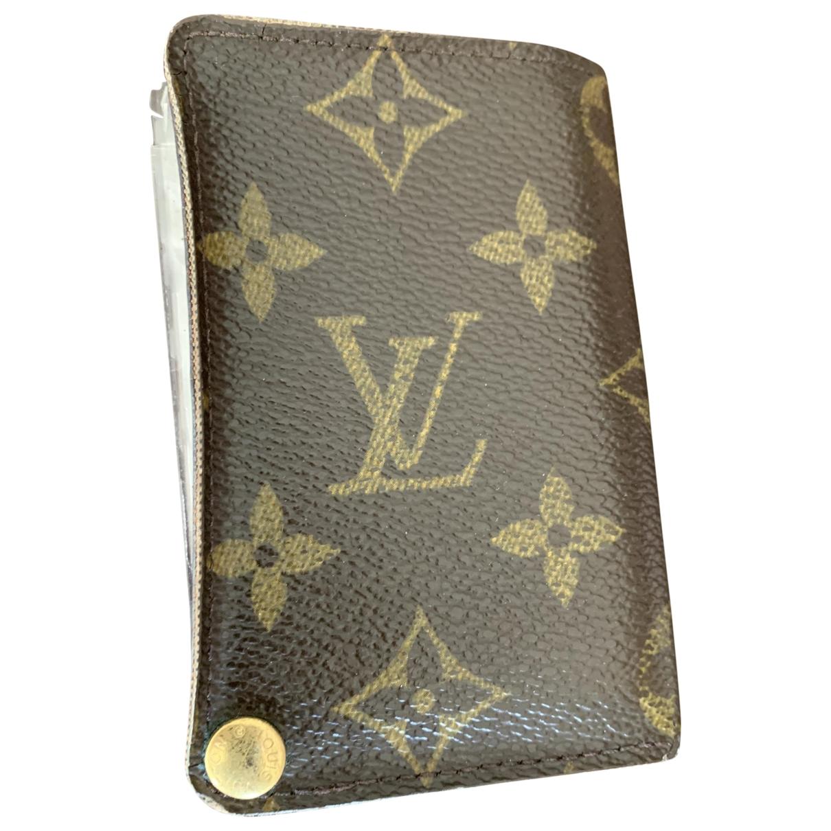 Marroquineria de Lona Louis Vuitton