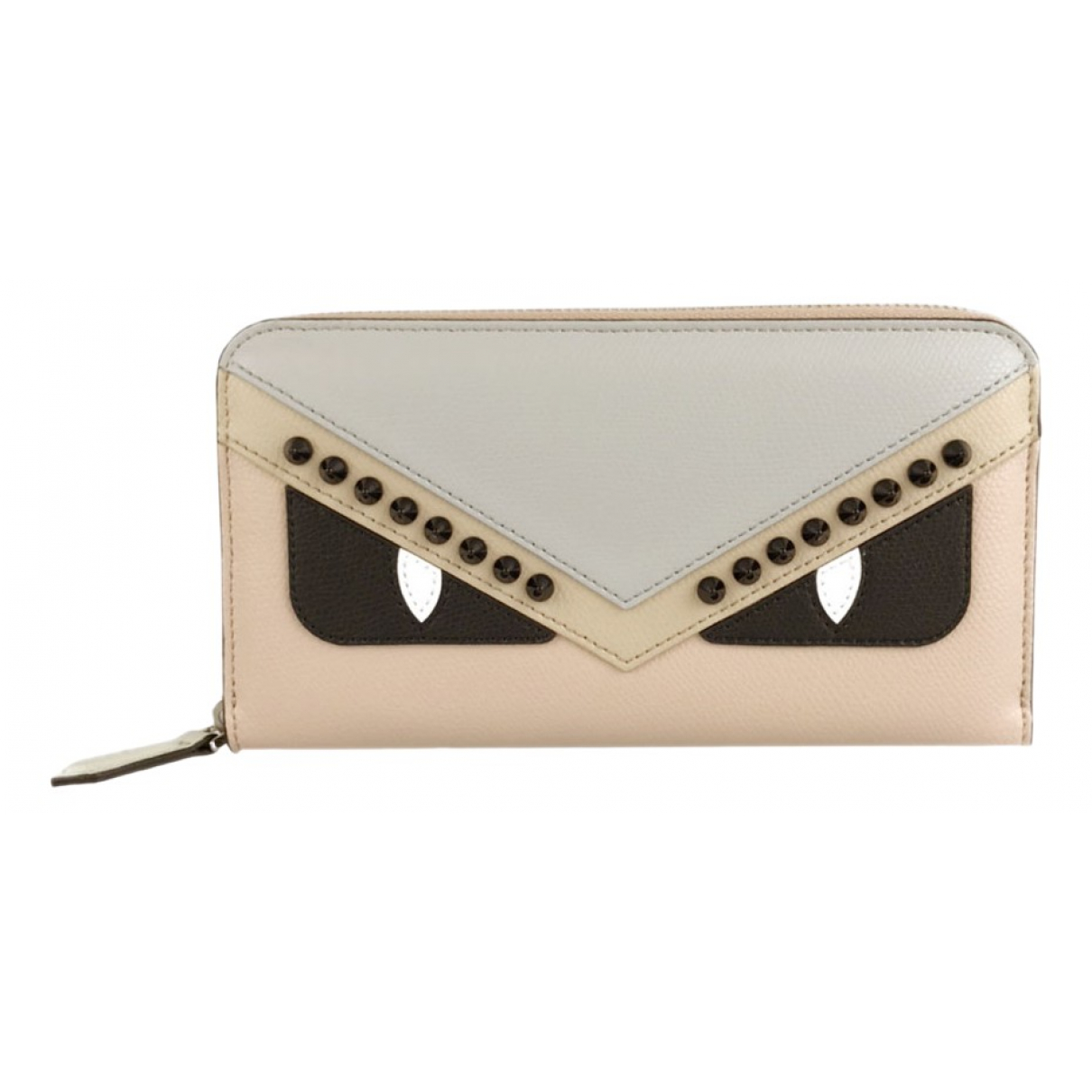 Fendi N Beige Leather wallet for Women N