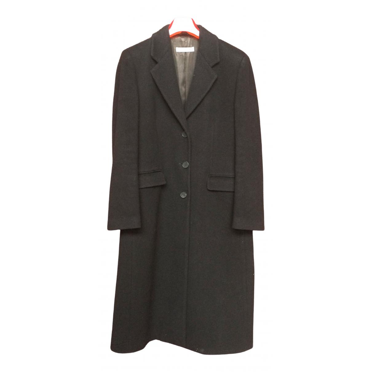 Emporio Armani \N Jacke in  Schwarz Wolle