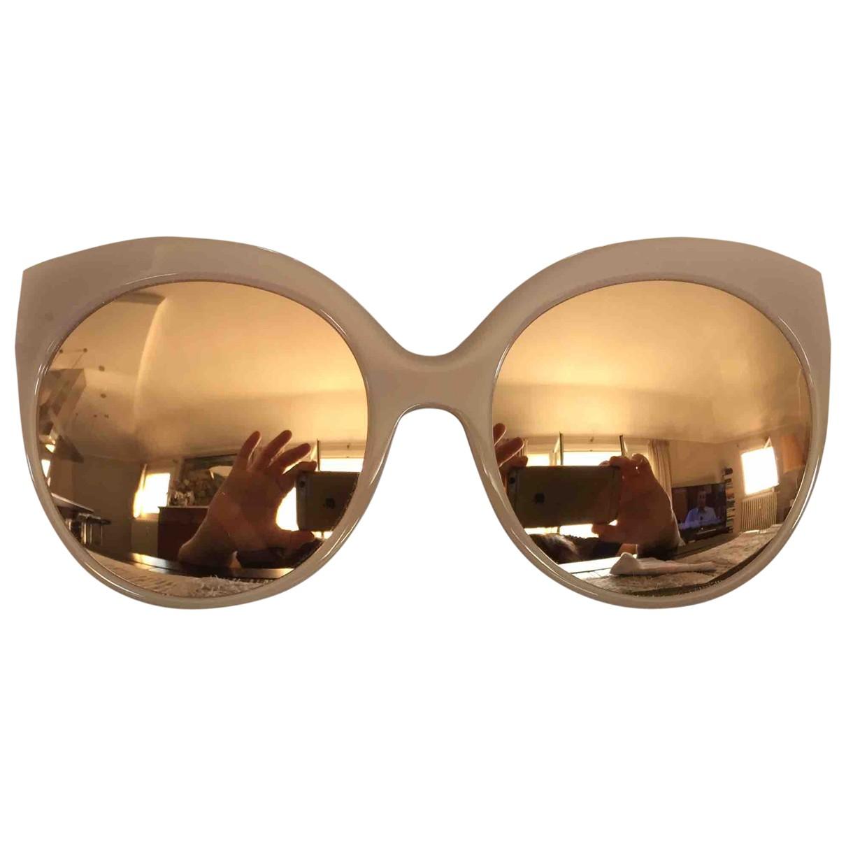 Linda Farrow \N Beige Sunglasses for Women \N