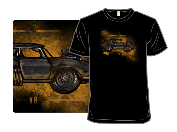 Road Trip To The Wasteland T Shirt