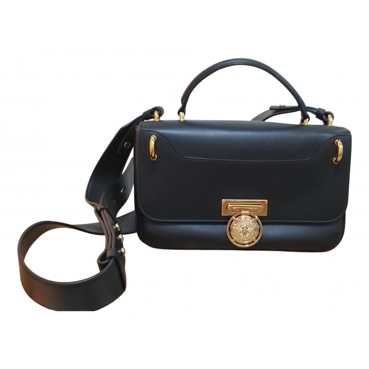 Balmain N Black Leather handbag for Women N