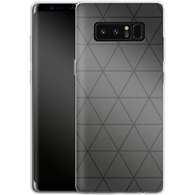 Samsung Galaxy Note 8 Silikon Handyhuelle - Ash von caseable Designs