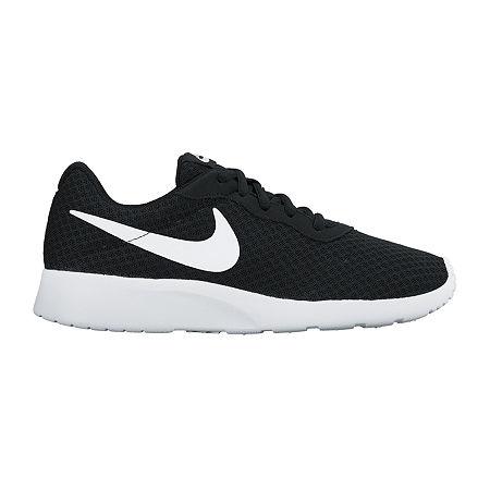 Nike Tanjun Womens Running Shoes, 9 1/2 Medium, Black