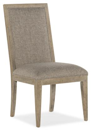 American Life-Amani Collection 1672-75311-80 Upholstered Side