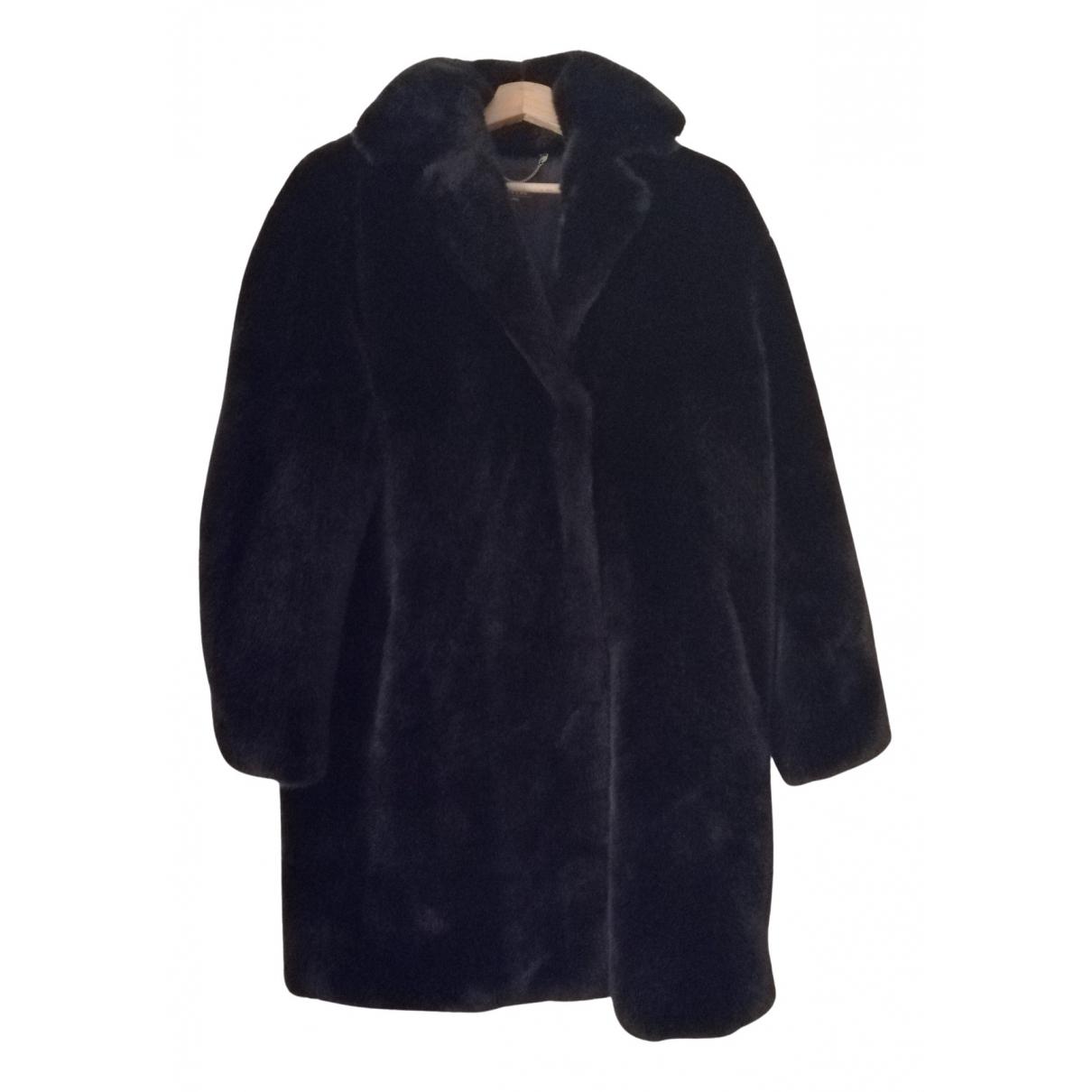 Max Mara Weekend \N Navy Faux fur jacket for Women 40 IT