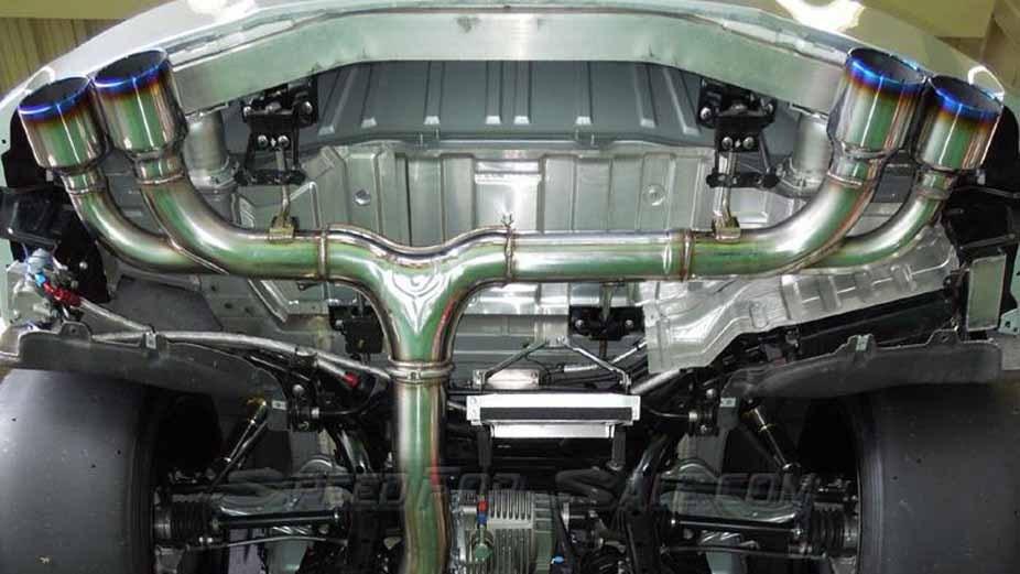 HKS 31008-KN001 Racing Muffler Nissan GT-R R35 2009-2021