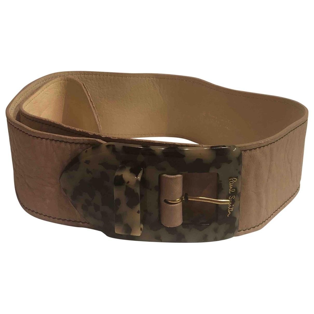 Cinturon de Cuero Paul Smith