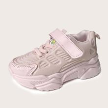 Maedchen Sneakers mit weiter Passform und Klettverschluss