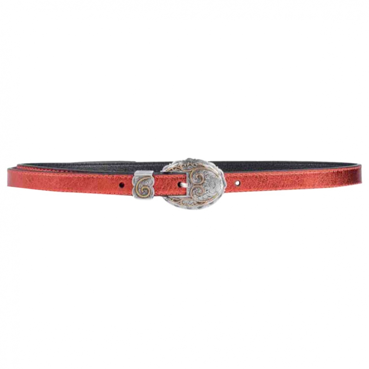 Kate Cate \N Red Leather belt for Women 90 cm