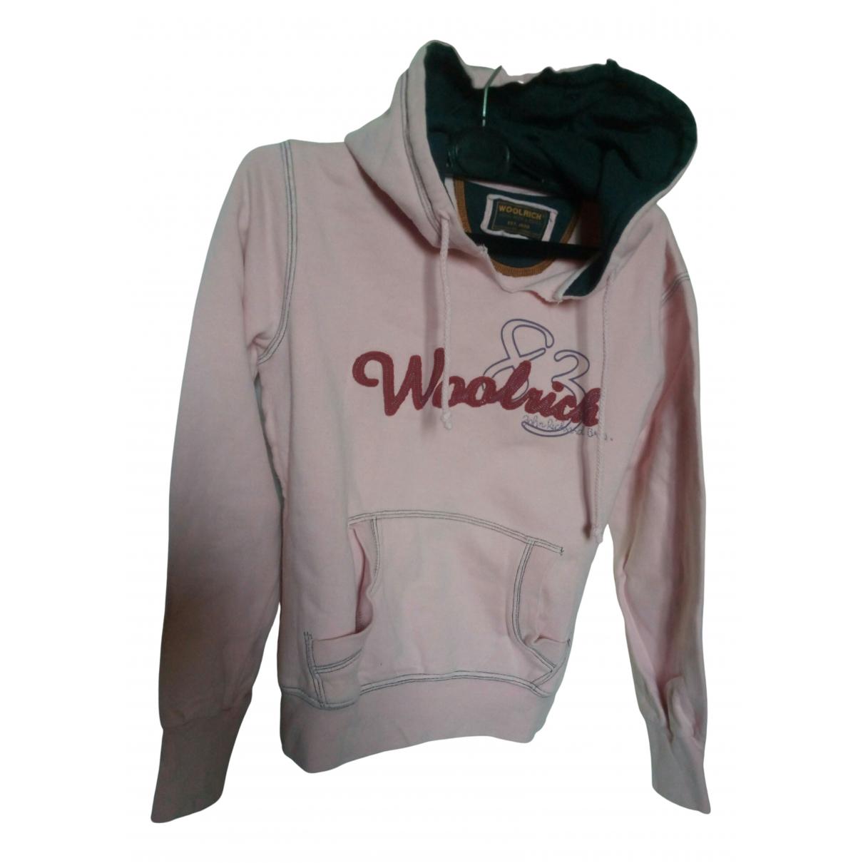 Woolrich - Pull   pour enfant en coton - rose