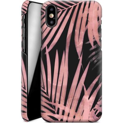 Apple iPhone X Smartphone Huelle - Delicate Jungle Art von Emanuela Carratoni