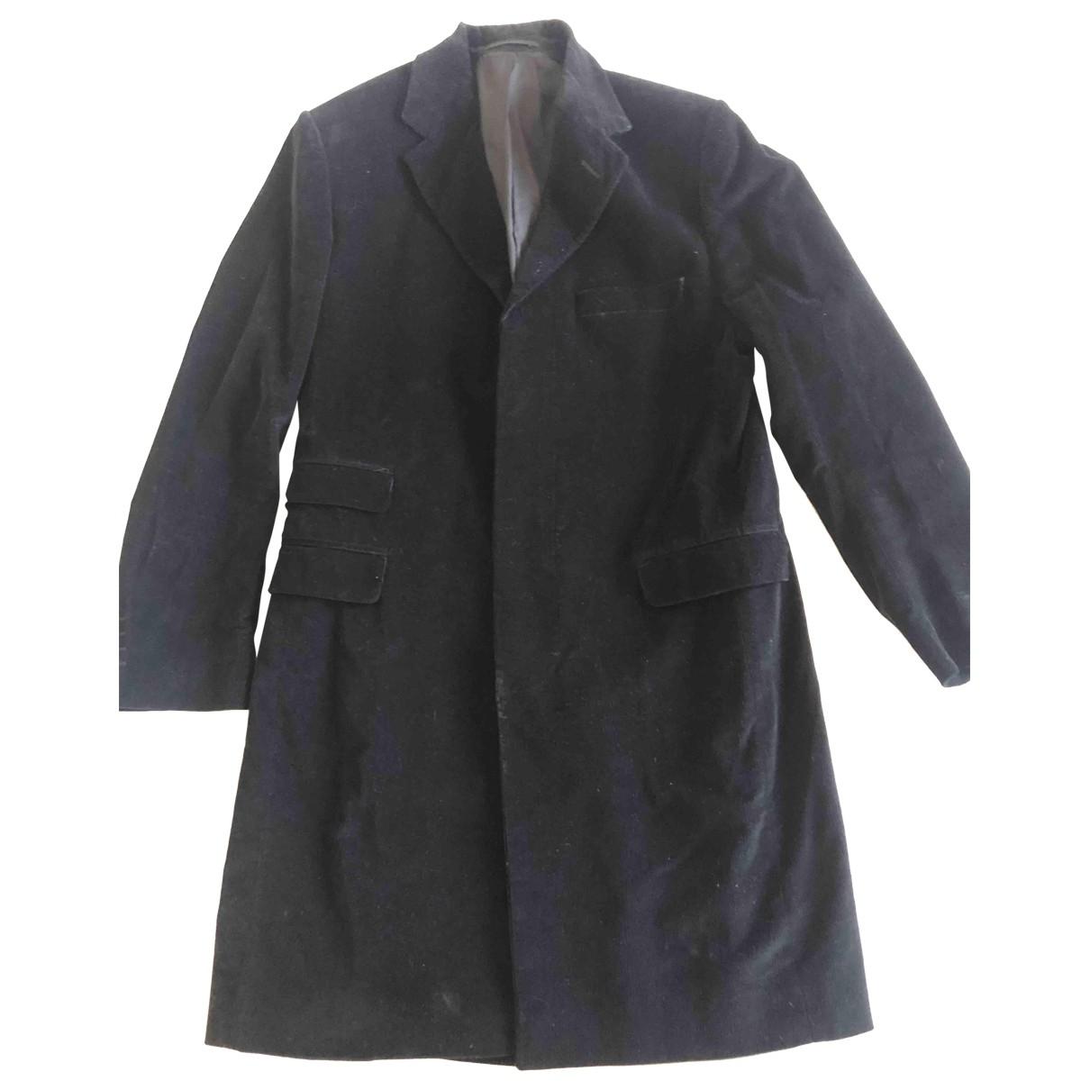 Paul Smith - Manteau   pour homme en coton - noir