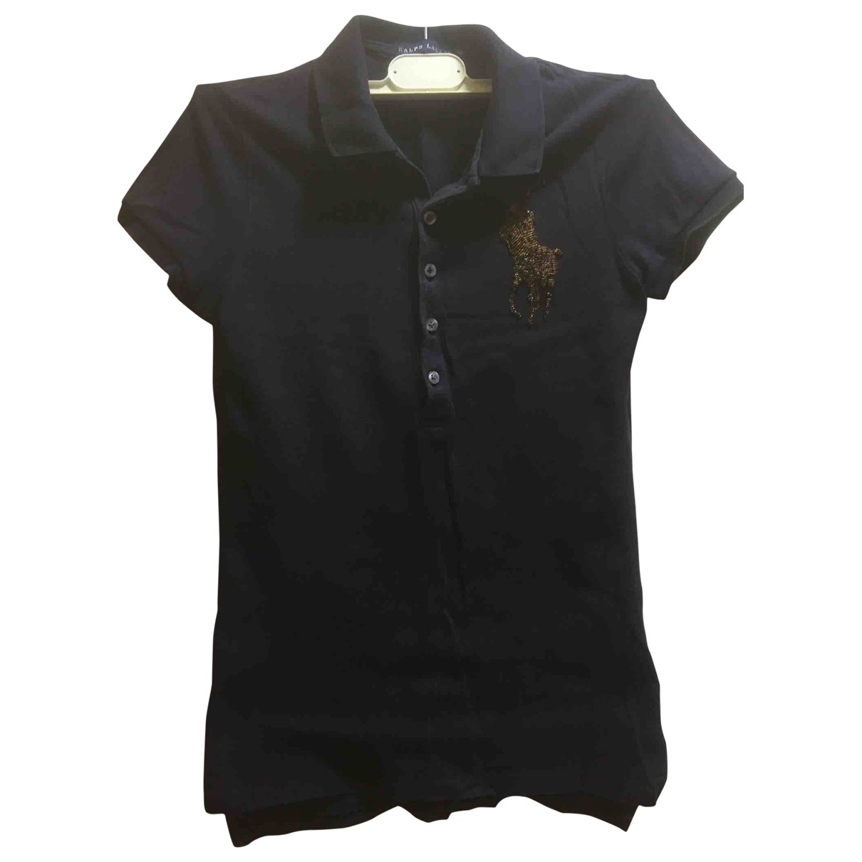 Ralph Lauren \N Blue Cotton  top for Women 36 IT