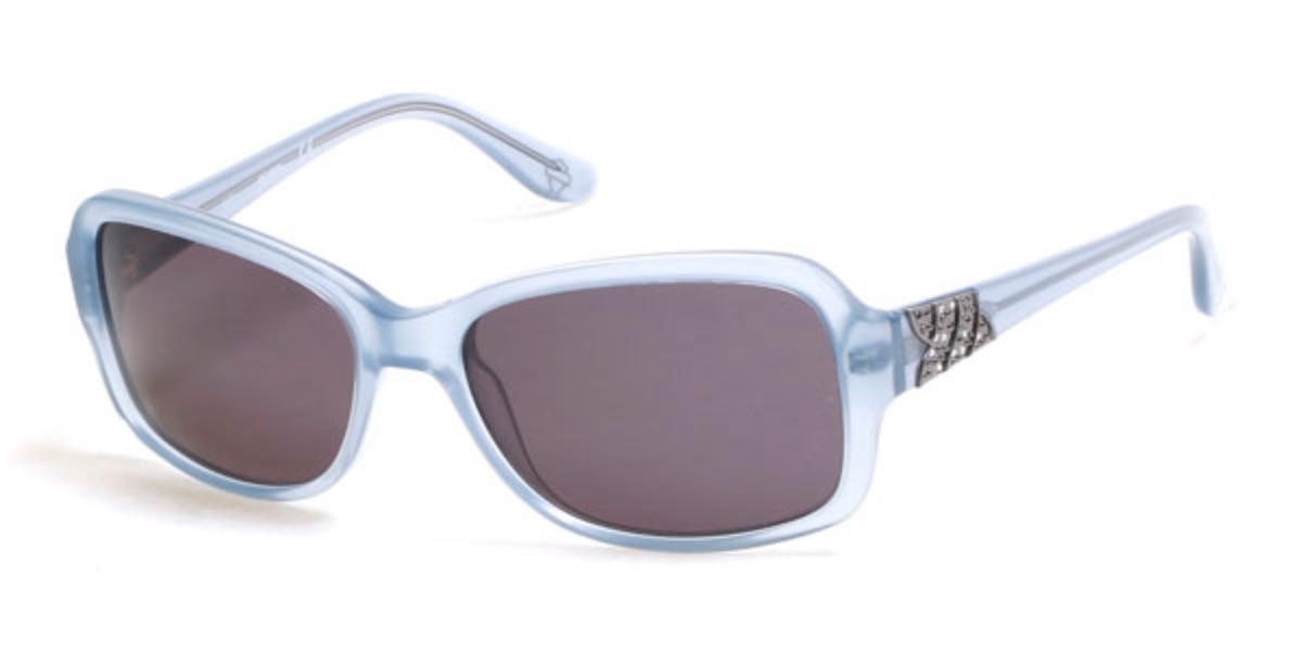 Harley Davidson HD0300X 84A Women's Sunglasses Gold Size 56