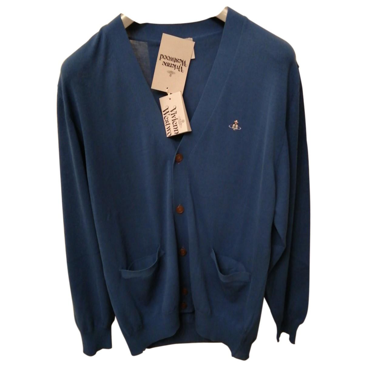 Vivienne Westwood \N Pullover.Westen.Sweatshirts  in  Blau Baumwolle