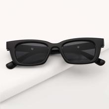 Simple Acrylic Frame Sunglasses