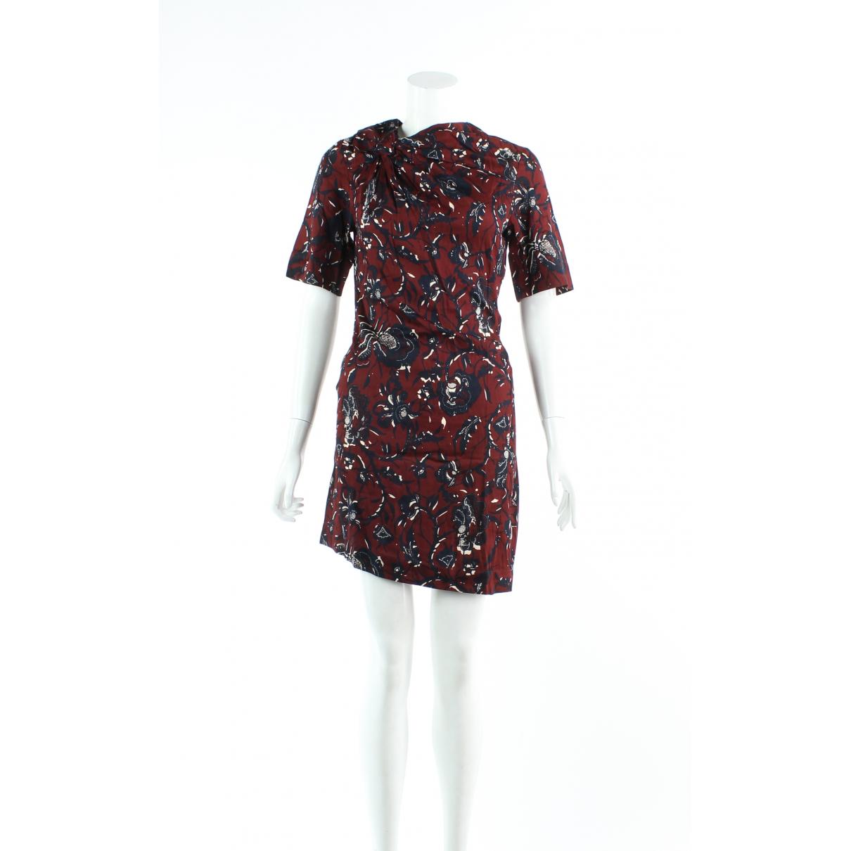 Isabel Marant Etoile \N Kleid in  Orange Baumwolle