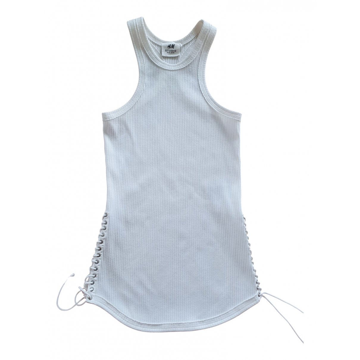 H&m Studio \N White Cotton  top for Women 34 FR