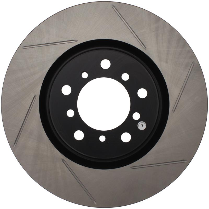 StopTech 126.34058SL Sport Slotted Brake Rotor; Front Left BMW M3 Front Left 2001-2006