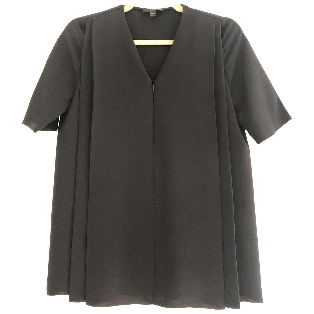 Cos \N Top in  Schwarz Polyester