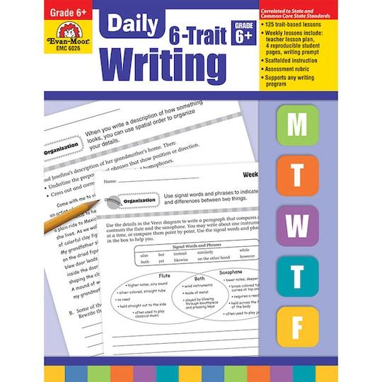 Evan Moor® Daily 6-Trait Writing Book, Grade 6+ By Evan-Moor Educational Publishers | Michaels®