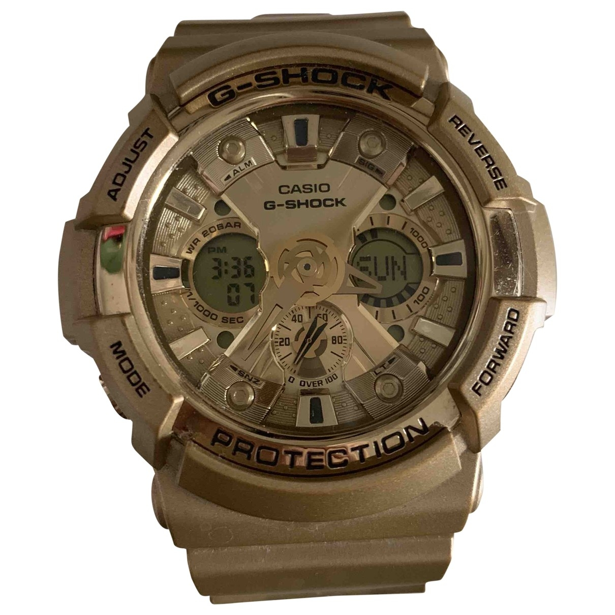 Casio \N Gold Steel watch for Women \N