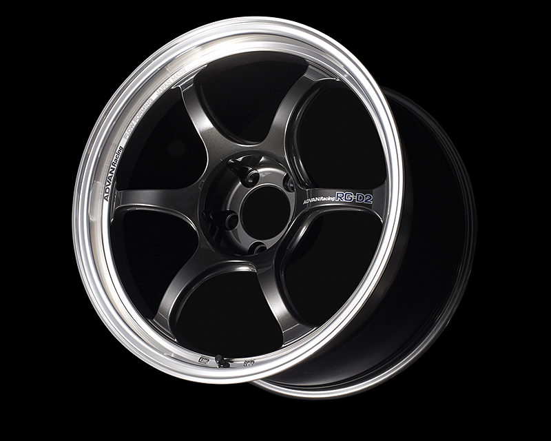 Advan RG-D2 Wheel 17x8.5 6x139.7 -10 Machining & Gunmetal Metallic