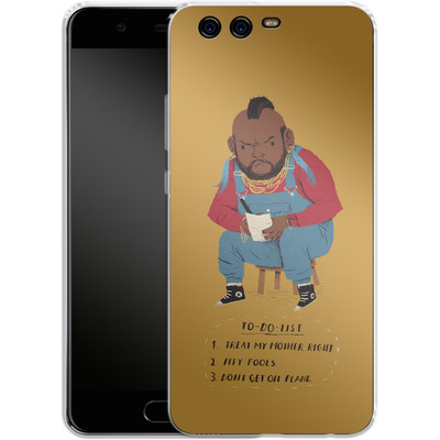 Huawei P10 Silikon Handyhuelle - Mr T To Do List von Louis Ros