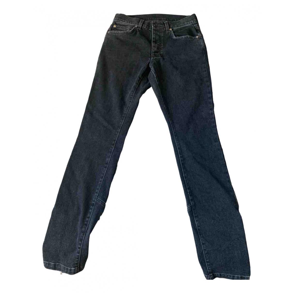 Pantalones en Denim - Vaquero Negro Rhude