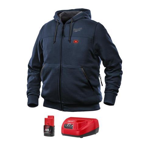 Milwaukee M12™ Heated Hoodie Kit L (Navy Blue)