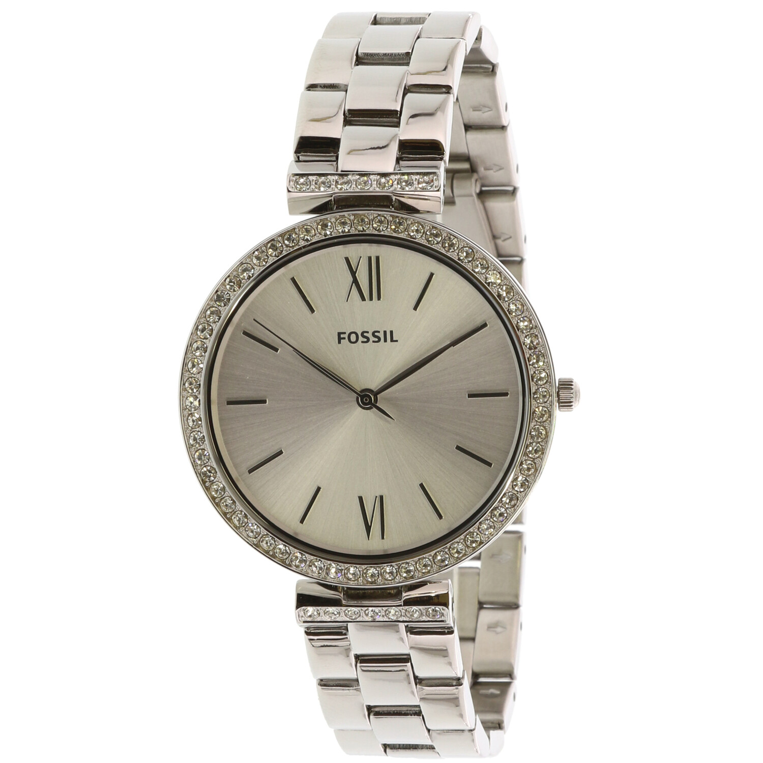 Fossil Women's ES4539 Madeline Three-Hand Silver Stainless Steel Dress Watch