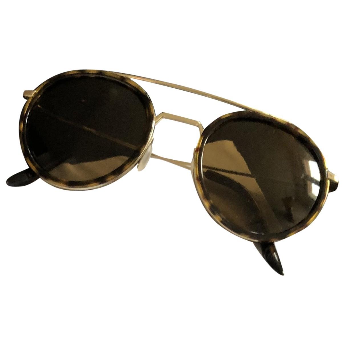 Vuarnet \N Sonnenbrillen in  Braun Metall